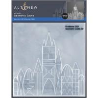Altenew - Geometric Castle 3D Embossing Folder