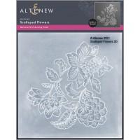 Altenew - Scalloped Flowers 3D Embossing Folder