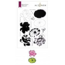 Altenew - Build-A-Flower: Indian Lotus Layering Stamp and Die Set