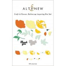 Altenew - Craft-A-Flower: Buttercup Layering Die Set