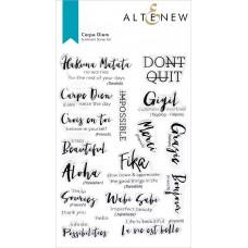 Altenew - Carpe Diem Stamp Set