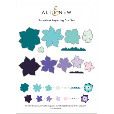 Altenew - Succulent Layering Die Set