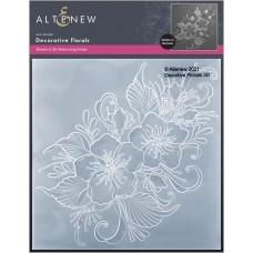 Altenew - Decorative Florals 3D Embossing Folder