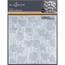 Altenew - Bunch Of Balloons 3D Embossing Folder