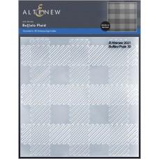 Altenew - Buffalo Plaid 3D Embossing Folder