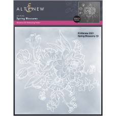 Altenew - Spring Blossoms 3D Embossing Folder