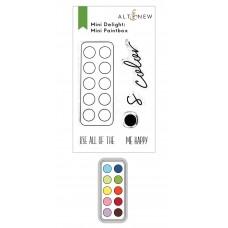 Altenew - Mini Delight: Mini Paintbox Stamp and Die Set