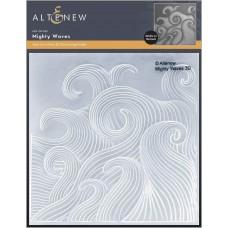 Altenew - Mighty Waves 3D Embossing Folder