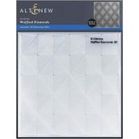 Altenew - Waffled Diamonds 3D Embossing Folder