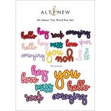 Altenew - All About You Word Die Set