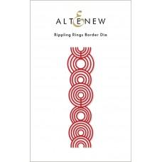 Altenew - Rippling Rings Border Die
