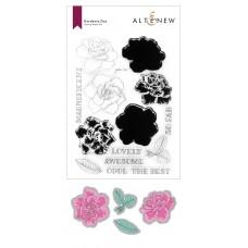 Altenew - Gardenia Duo Stamp and Die Bundle