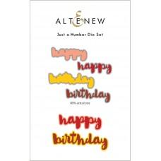 Altenew - Just A Number Die Set