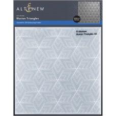 Altenew - Illusion Triangles 3D Embossing Folder