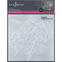 Altenew - Pressed Flowers 3D Embossing Folder