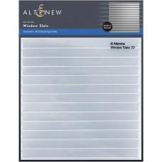 Altenew - Window Slats 3D Embossing Folder