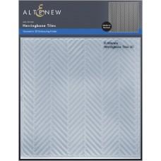 Altenew - Herringbone Tiles 3D Embossing Folder