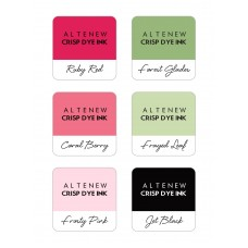 Altenew - Floral 6 Crisp Dye Ink Mini Cube Set
