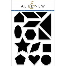Altenew - Simple Shapes XL Stamp Set
