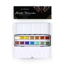 Altenew - Metallic Watercolor 14 Pan Set