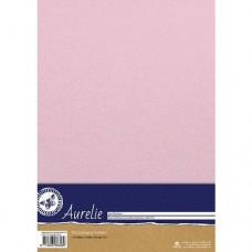 Aurelie - Elegant Shimmering Cardstock - Baby Pink (10 sheets)