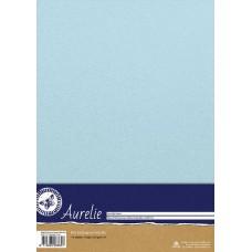Aurelie - Elegant Shimmering Cardstock - Baby Blue (10 sheets)