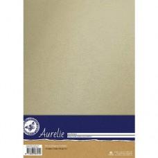Aurelie - Vintage Metallic Cardstock Ivory (10 sheets)