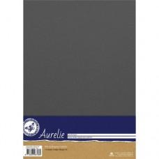 Aurelie - Vintage Metallic Cardstock Steel (10 sheets)
