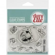 Avery Elle - Aw, Nuts Bundle (stamp and die set)