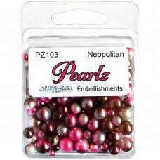 Buttons Galore - Pearlz - Neapolitan