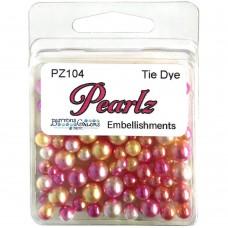 Buttons Galore - Pearlz - Tie Dye