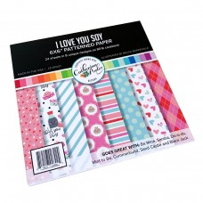 Catherine Pooler - I Love You Soy Patterned Paper