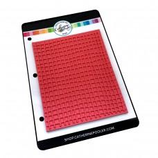Catherine Pooler - Scribble Grid Background Stamp