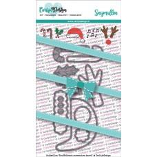 Carlijn Design - Dies Cuddle Card Christmas Accessories