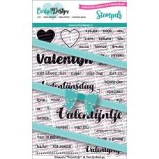 Carlijn Design - Stamps Valentine (Dutch)