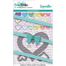 Carlijn Design - Dies Outline Hearts