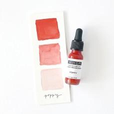 Concord and 9th - Poppy Liquid Watercolor