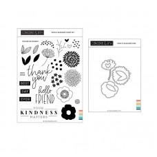 Concord and 9th - Buds and Blossoms Bundle (stamp set and dies)