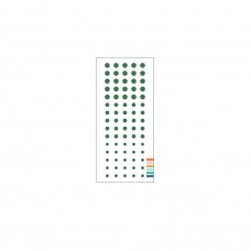 Concord and 9th - Evergreen Enamel Dots