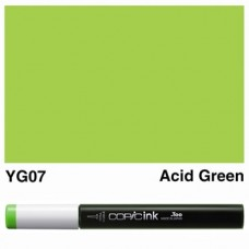 Copic Ink Refill - YG07 Acid Green