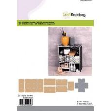 CraftEmotions - MDF 3D Storage Module