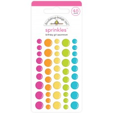 Doodlebug Design - Sprinkles - Birthday Girl Assortment