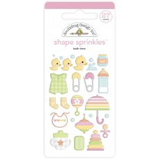 Doodlebug Design - Shape Sprinkles - Snugs & Kisses