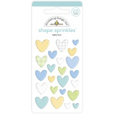Doodlebug Design - Shape Sprinkles - Baby Love