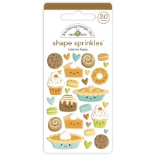 Doodlebug Design - Shape Sprinkles - Bake Me Happy