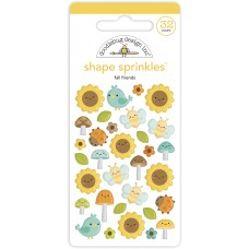 Doodlebug Design - Shape Sprinkles - Fall Friends