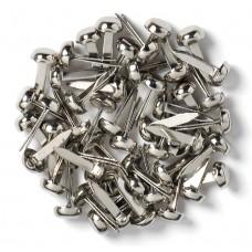 Doodlebug Design - Mini Brads - Silver (25 pieces)