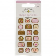 Doodlebug Design - Shape Sprinkles - Chocolate Box