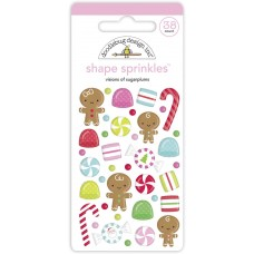 Doodlebug Design - Shape Sprinkles - Visions of Sugarplums