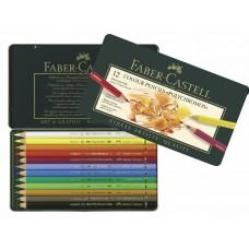 Faber-Castell - Polychromos Colored Pencils (12 pieces)
